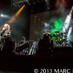 The Cure performing at Voodoo Music + Arts Experience in New Orleans on November 3rd 2013 photo by Marc Nader