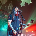 SLAYER performing on their North American Tour at The Fillmore in Detroit, MI on November 16th 2013 Photo by Marc Nader