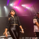 Becky G  performing on MTV's Artist to Watch Tour at The Royal Oak Music Theatre March 2nd 2014 credit Marc Nader
