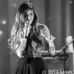 Christina Perri performing on her 2014 Head Or Heart Spring Tour at the Majestic Theatre in Detroit, MI on April 11th 2014 Photo by Marc Nader