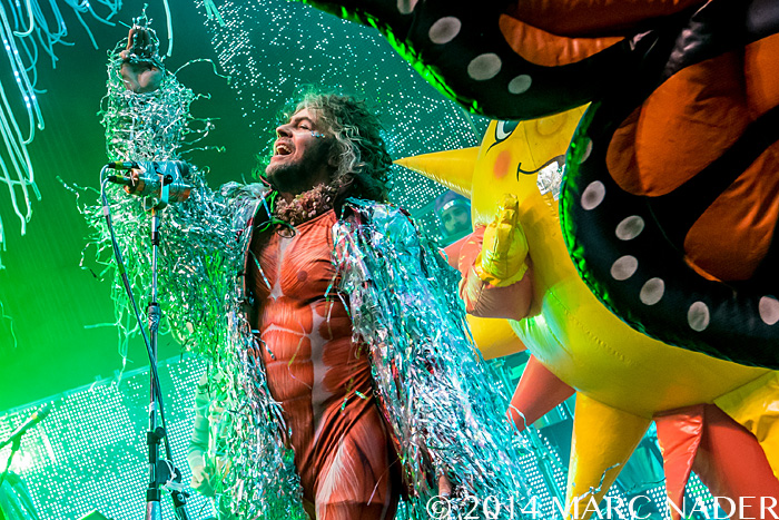 The Flaming Lips performing on their 2014 Summer Tour at The Fillmore in Detroit, MI on June 12th 2014 Photo by Marc Nader