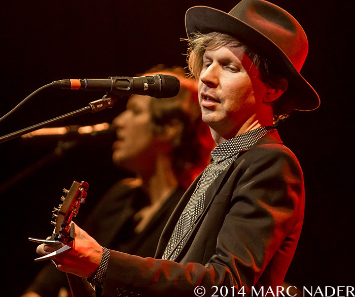 Beck performing on his 'Morning Phase' Tour at The Fox Theatre in Detroit, MI on June 28th 2014 Photo by Marc Nader