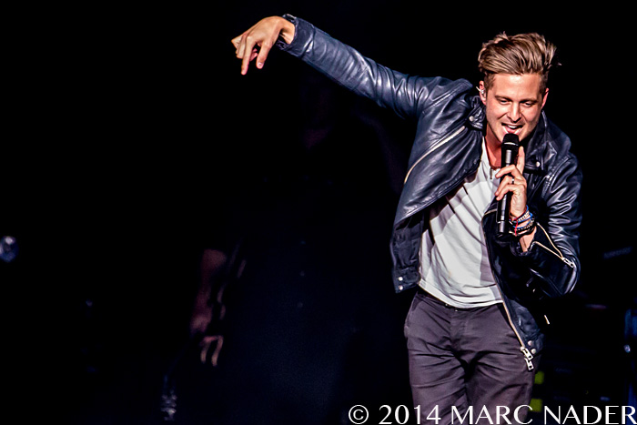 OneRepublic performing on their Native Summer US Tour at DTE Energy Music Theatre in Clarkston Mi on June 21st 2014 Photo by Marc Nader
