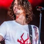 Soundgarden performing on the 2014 North American Tour with Nine Inch Nails at DTE Energy Music Theatre in Clarkston Mi on July 26th 2014 Photo by Marc Nader
