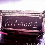 Paramore performing on the Monumentour at DTE Energy Music Theatre in Clarkston Mi on July 8th 2014 Photo by Marc Nader