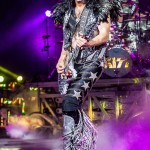 KISS performing on their 2014 Summer Tour at DTE Energy Music Theatre in Clarkston Mi on August 23rd 2014 Photo by Marc Nader