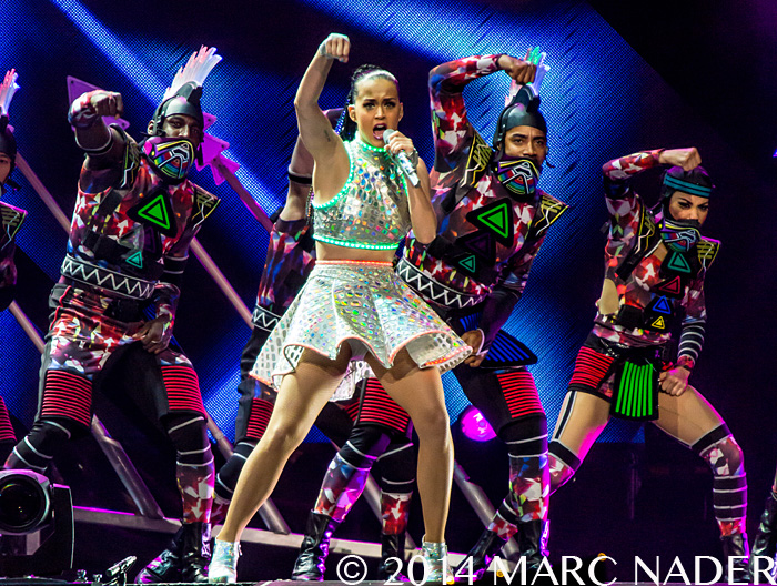 Katy Perry performing on her Prismatic World Tour at the Palace of Auburn Hills  in Auburn Hills, MI on August 11th 2014 Photo by Marc Nader