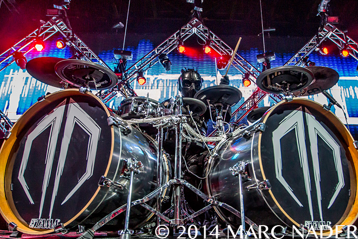 Destroid Performing on The Safe in Sound Festival at Freedom Hill in Sterling Heights, MI on September 20th 2014 Photo by Marc Nader