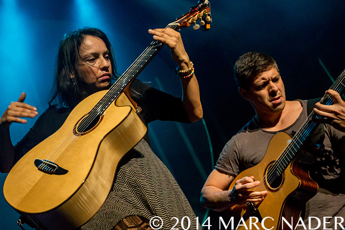 Rodrigo y Gabriela performing on their 9 Dead Alive Tour at The Fillmore in Detroit, MI on October 25th 2014 Photo by Marc Nader