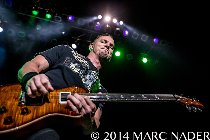 Alter Bridge performing on their 2014 FortressTour at The Fillmore in Detroit, MI on October 5th 2014 Photo by Marc Nader