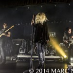 The Pretty Reckless performing on their Going to Hell 2014 Fall Tour at St. Andrews Hall in Detroit, MI on October 26th 2014 Photo by Marc Nader