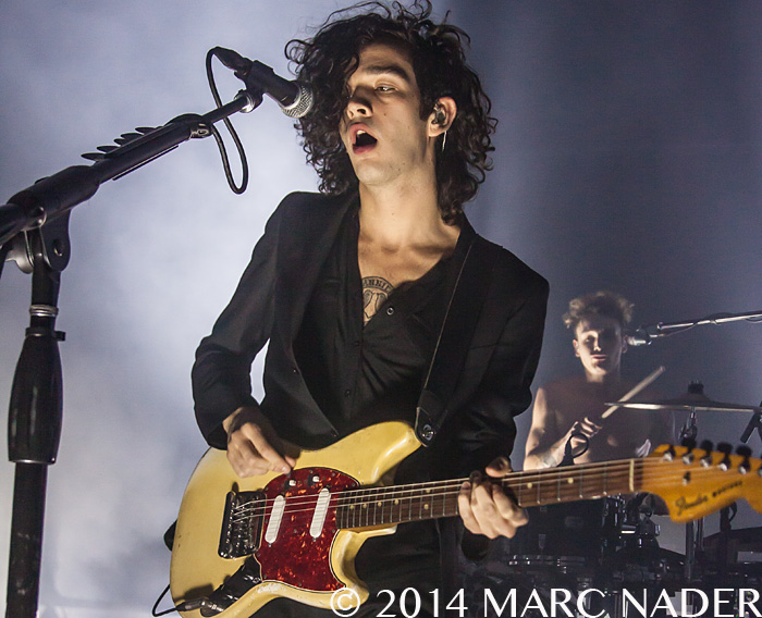 The 1975 performing at The Fillmore in Detroit, MI November 4th 2014 Photo by Marc Nader