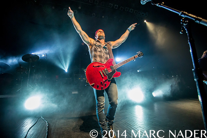 Kip Moore performing on the Up In Smoke 2014 Tour at The Fillmore in Detroit, MI on November 28th 2014 Photo by Marc Nader