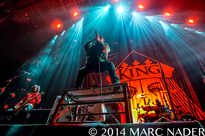 King 810 performing on the Prepare for Hell Tour at the Palace of Auburn Hills in Auburn Hills, MI on November 29th 2014 Photo by Marc Nader