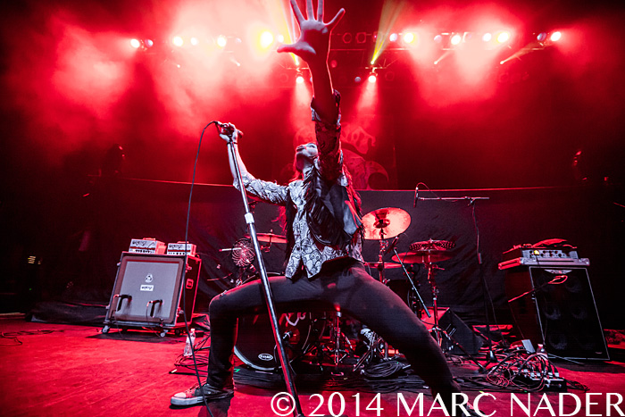 Crobot performing on Chevelle's La Gargoia Tour at The Fillmore in Detroit, MI on December 18th 2014 Photo by Marc Nader