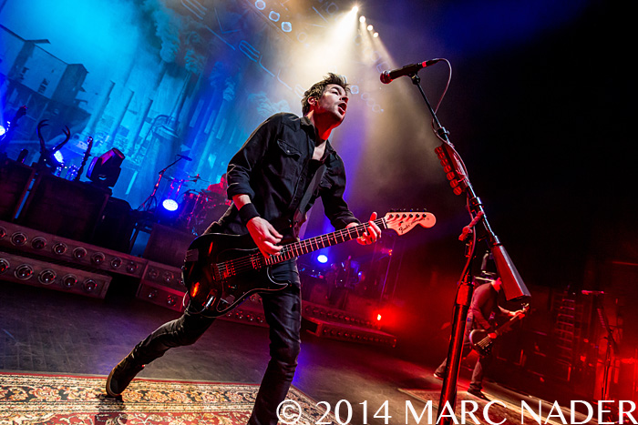 Chevelle performing on their La Gargoia Tour at The Fillmore in Detroit, MI on December 18th 2014 Photo by Marc Nader