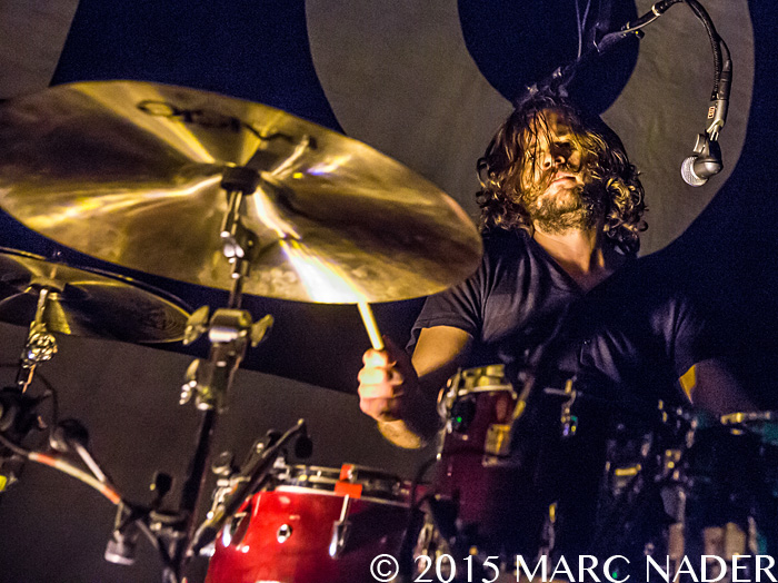 Kongos performing on the Lunatic Tour at St. Andrews Hall in Detroit, MI on February 25th 2015 Photo by Marc Nader