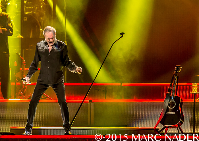 Neil Diamond performing on his 2015 World Tour at the Palace of Auburn Hills  in Auburn Hills, MI on March 20th 2015 Photo by Marc Nader