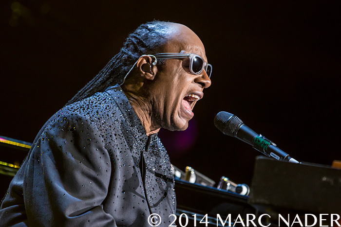Stevie Wonder performing on his Songs in the Key of Life Tour at the Palace of Auburn Hills  in Auburn Hills, MI on November 20th 2014 Photo by Marc Nader