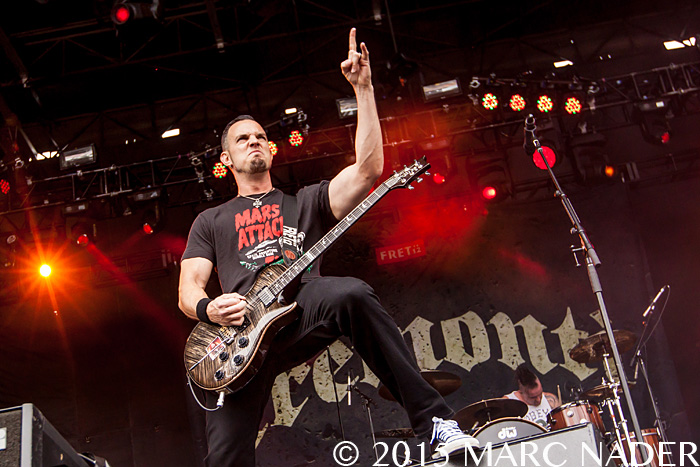 Tremonti performs on day Two of the 2015 Rock On The Range Festival at Maphre Stadium in Columbus Ohio on May 16th 2015 Photo by Marc Nader