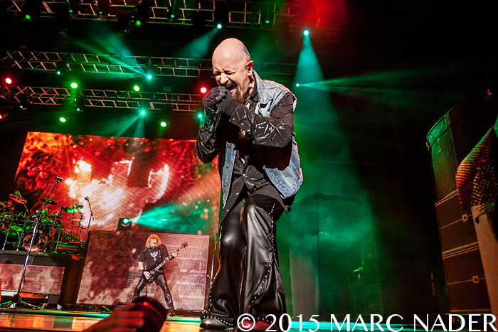 Judas Priest performs on day Two of the 2015 Rock On The Range Festival at Maphre Stadium in Columbus Ohio on May 16th 2015 Photo by Marc Nader