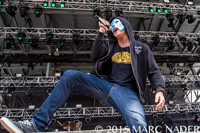Hollywood Undead performs on the last day of the 2015 Rock On The Range Festival at Maphre Stadium in Columbus Ohio on May 17th 2015 Photo by Marc Nader
