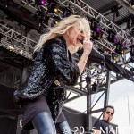 The Pretty Reckless performs on the last day of the 2015 Rock On The Range Festival at Maphre Stadium in Columbus Ohio on May 17th 2015 Photo by Marc Nader