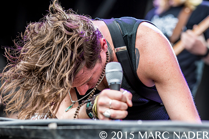 Rival Sons performs on the last day of the 2015 Rock On The Range Festival at Maphre Stadium in Columbus Ohio on May 17th 2015 Photo by Marc Nader