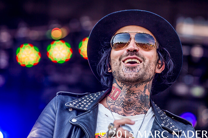 Yelawolf performs on day one of the 2015 Rock On The Range Festival at Maphre Stadium in Columbus Ohio on May 15th 2015 Photo by Marc Nader