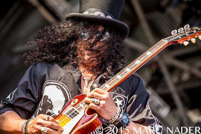 Slash featuring Myles Kennedy and the Conspirators performs on day one of the 2015 Rock On The Range Festival at Maphre Stadium in Columbus Ohio on May 15th 2015 Photo by Marc Nader