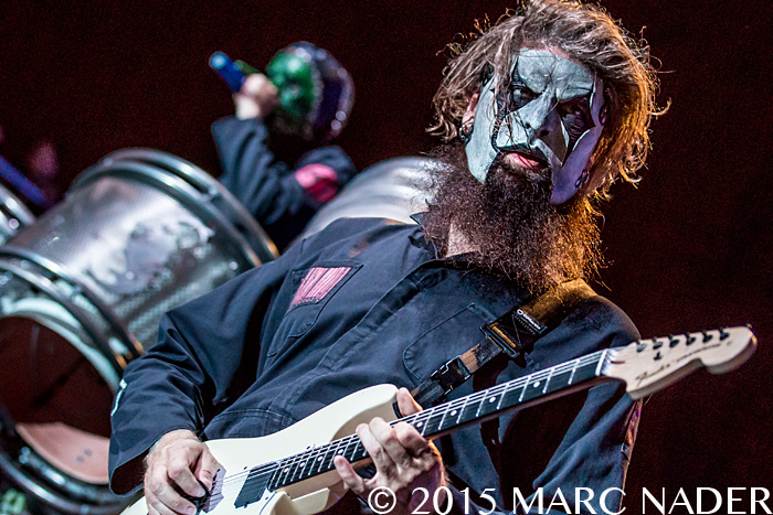 Slipknot performs on day one of the 2015 Rock On The Range Festival at Maphre Stadium in Columbus Ohio on May 15th 2015 Photo by Marc Nader