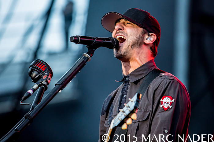 Godsmack performs on day Two of the 2015 Rock On The Range Festival at Maphre Stadium in Columbus Ohio on May 16th 2015 Photo by Marc Nader