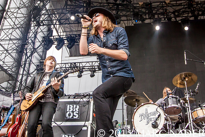 A Thousand Horses performs at The 99.5 WYCD Downtown Hoedown at the West Riverfront Park in Detroit, MI on June 5th 2015 Photo by Marc Nader