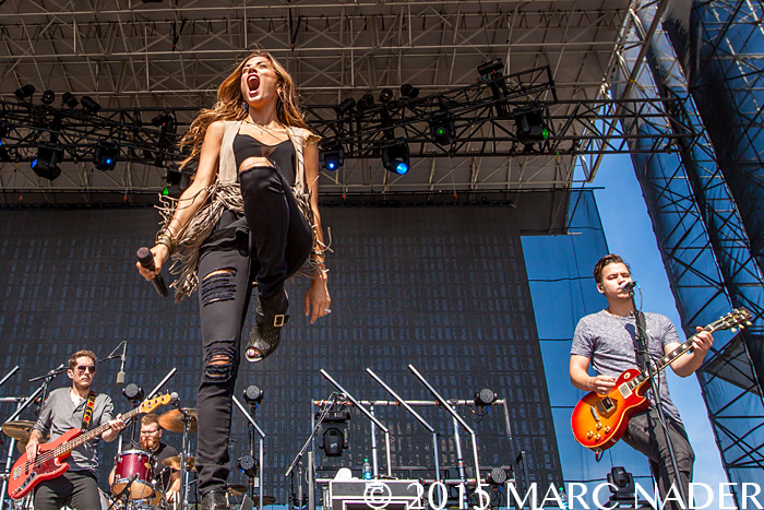 Jana Kramer performing at The 99.5 WYCD Downtown Hoedown at the West Riverfront Park in Detroit, MI on June 6th 2015 Photo by Marc Nader
