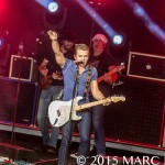 Hunter Hayes performing on the Wheels Up Tour at DTE Energy Music Theatre in Clarkston Mi on June 19th 2015 Photo by Marc Nader