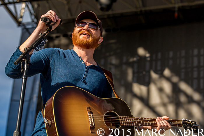 Eric Paslay performing at The 99.5 WYCD Downtown Hoedown at the West Riverfront Park in Detroit, MI on June 6th 2015 Photo by Marc Nader