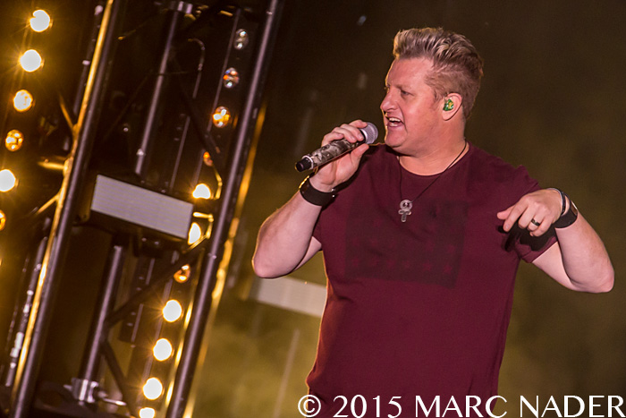 Rascal Flatts performing at The 99.5 WYCD Downtown Hoedown at the West Riverfront Park in Detroit, MI on June 6th 2015 Photo by Marc Nader