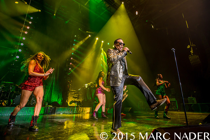 Charlie Wilson performing on the Forever Charlie Tour at DTE Energy Music Theatre in Clarkston Mi on June 13th 2015 Photo by Marc Nader