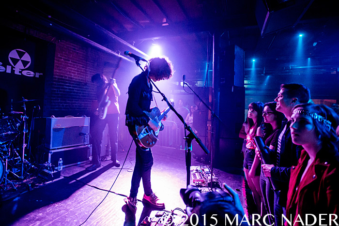 Temples performing at The Shelter in Detroit, MI on June 4th 2015 Photo by Marc Nader