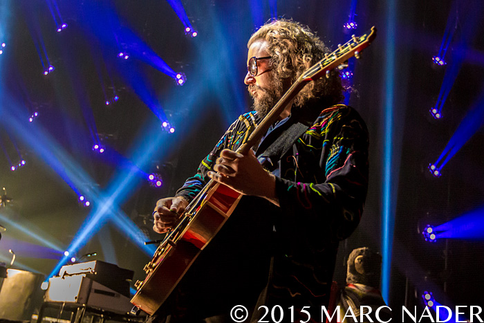 My Morning Jacket performing on The Waterfall / Spontaneous Curation Series II Tour at The Fillmore in Detroit, MI on June 17th 2015 Photo by Marc Nader