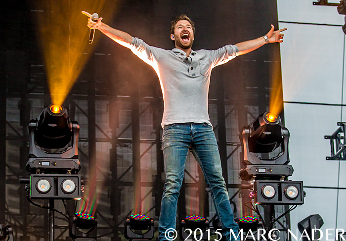 Brett Eldredge performs at The 99.5 WYCD Downtown Hoedown at the West Riverfront Park in Detroit, MI on June 5th 2015 Photo by Marc Nader