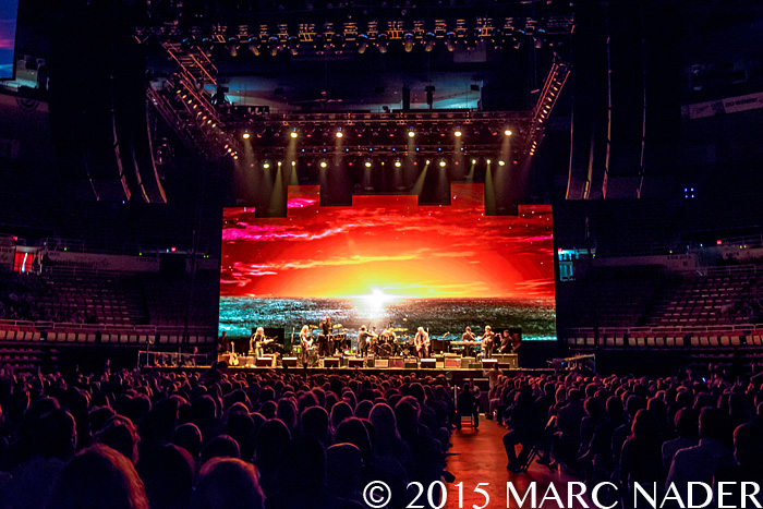Eagles performing on The History of the Eagles Tour at Joe Louis Arena in Detroit, MI on July 24th 2015 Photo by Marc Nader