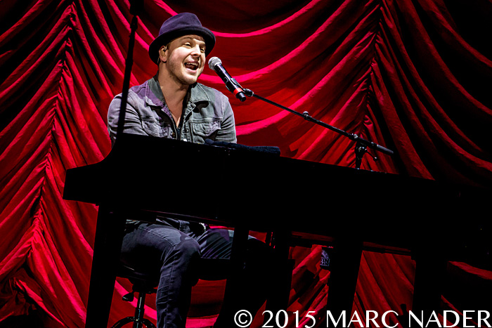 Gavin DeGraw performing on the Rock This Country Tour at the Palace of Auburn Hills  in Auburn Hills, MI on July 25th 2015 Photo by Marc Nader