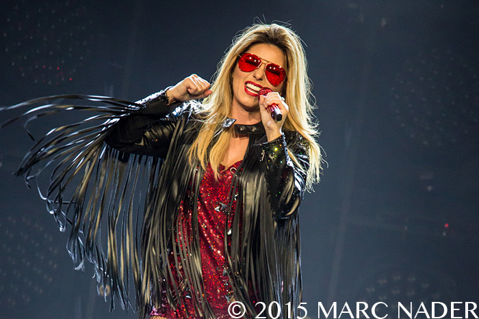 Shania Twain performing on the Rock This Country Tour at the Palace of Auburn Hills  in Auburn Hills, MI on July 25th 2015 Photo by Marc Nader