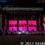 """Augustana performing on One Direction's """"On The Road Again Tour"""" at Ford Field in Detroit, MI on August 29th 2015"""