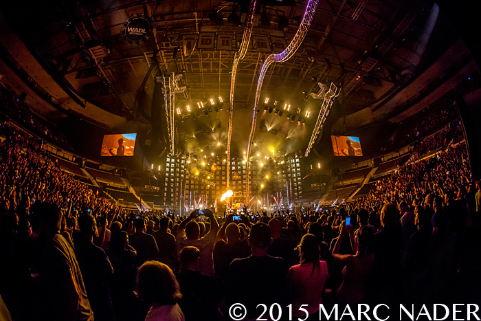 "Motley Crue performing on ""The Final Tour"" at the Palace of Auburn Hills in Auburn Hills, MI on August 9th 2015 Photo by Marc Nader"