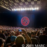 Foo Fighters performing on their Sonic Youth Tour at DTE Energy Music Theatre in Clarkston, MI on August 24th 2015 Photo by Marc Nader