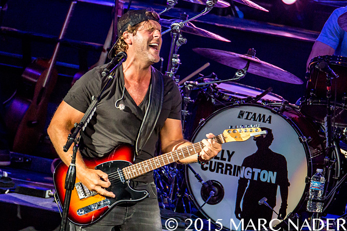 Billy Currington performing on the Shot Gun Rider Tour at DTE Energy Music Theatre in Clarkston Mi on August 2nd 2015 Photo by Marc Nader