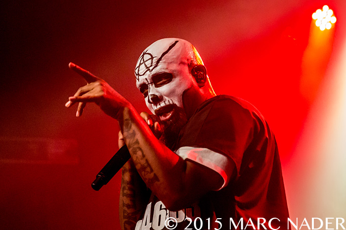 Tech N9ne performing on the Special Effects Tour at St. Andrews Hall in Detroit, MI on September 27th 2015 Photo by Marc Nader