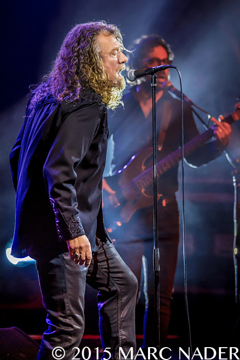 Robert Plant and The Sensational Space Shifters performing at the Meadow Brook Music Festival in Rochester Hills, MI on September 10th 2015 Photo by Marc Nader
